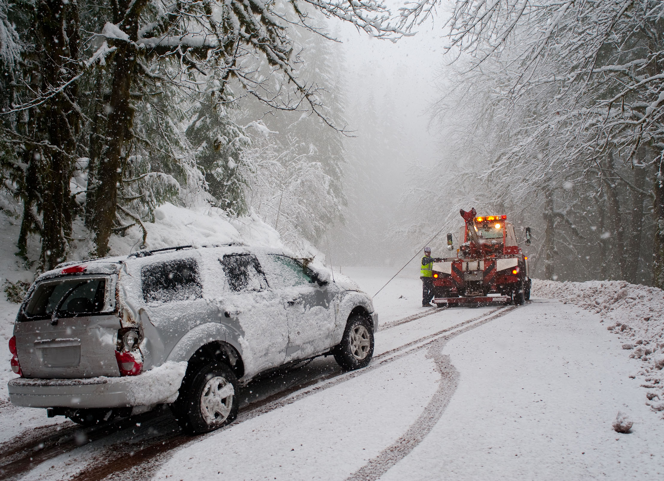 winter towing
